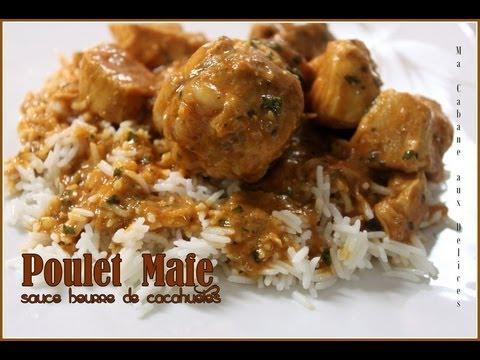 Mafe poulet recette africaine senegal recipe youtube - Recette de cuisine senegalaise ...