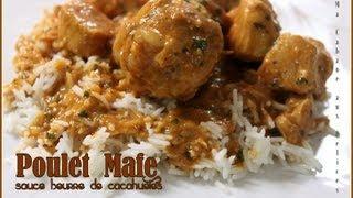 Mafe poulet, recette africaine / Senegal recipe