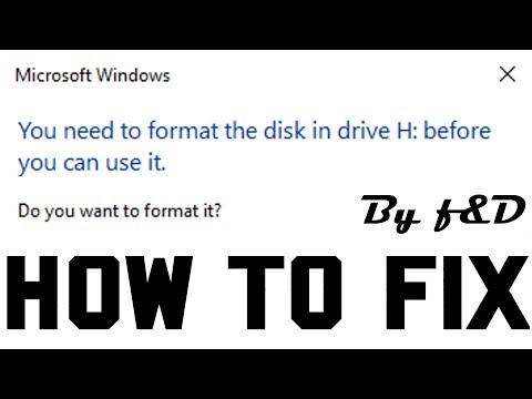 How To Fix You Need To Format The Disk Before You Can Use It Using TestDisk Method 3