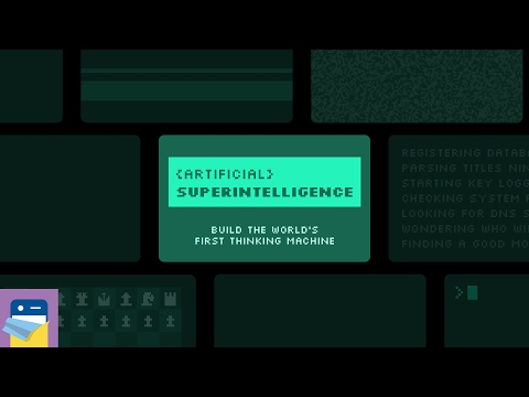 Artificial Superintelligence: iOS iPad Gameplay Walkthrough (by Grailr / CARROT)