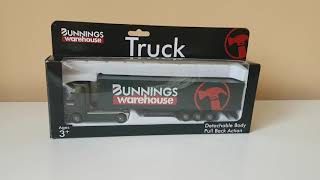 Opening the bunnings truck