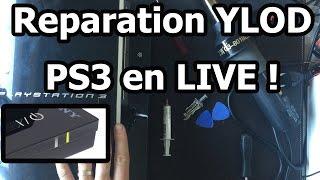 Comment démonter et réparer le YLOD sur une PS3 40go, voici le tuto !