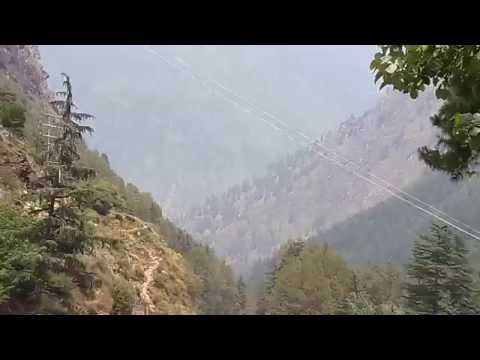 Kasol`s Parvati Valley River Views from Alpine Hotel