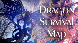 Dragon Survival Minecraft map / Smoczy Survival [download]