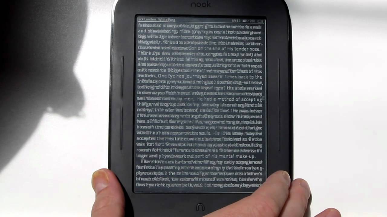 Cool Reader App for Nook Touch has Partial Refresh and Page