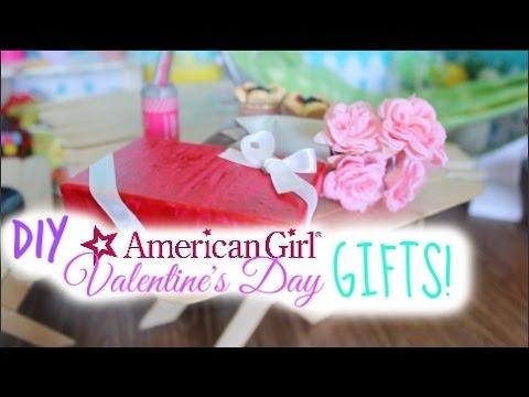 Diy American Girl Valentine S Day Chocolate Box More Youtube