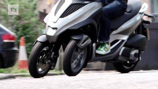 Piaggio mp3 Yourban test drive
