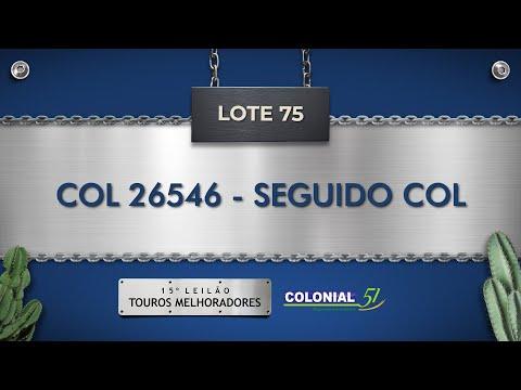 LOTE 75   COL 26546