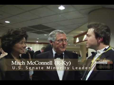 Senator Mitch McConnell Interview on BourbonBlog.com
