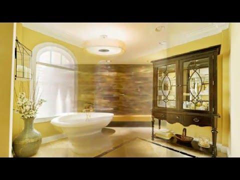 Charming Yellow Bathroom Design Ideas