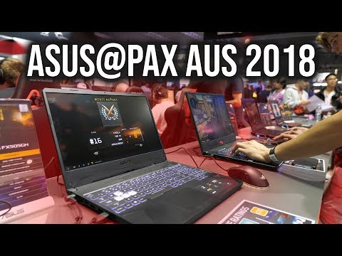 ASUS Zephyrus S and FX505 Gaming Laptops @ PAX Australia 2018