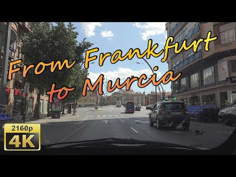 From Frankfurt to Murcia - Spain 4K Travel Channel