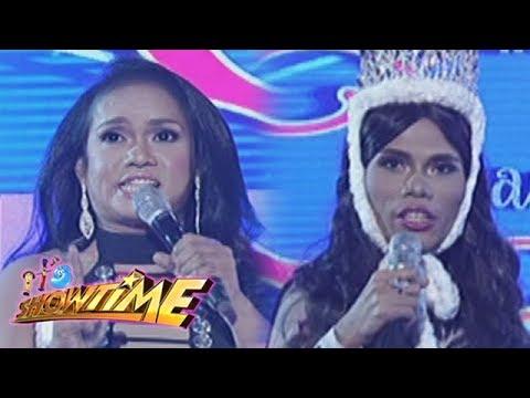 It's Showtime Miss Q & A: Angela Smyth and Marigona Dona Dragusha in Beklamation