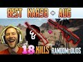 Kar98 + AUG - Chocotaco 18 kills RANDOM DUOS | PUBG HIGHLIGHTS TOP 1 #156