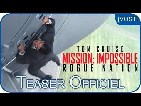 Mission:Impossible - Rogue Nation | Bande-annonce #1 [VOST]
