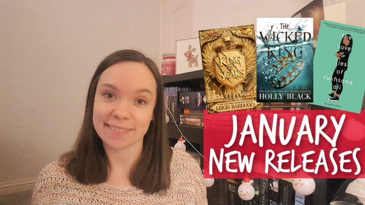 23 New Book Releases || January 2019