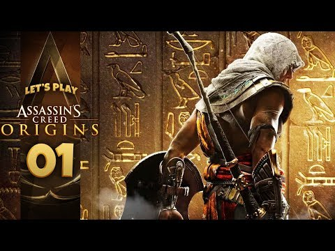 AN EGYPTIAN ADVENTURE | Assassin's Creed: Origins (Let's Play Part 1)