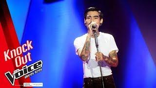 เล็ก - เปลืองน้ำตา - Knock Out - The Voice Thailand 2018 - 21 Jan 2019