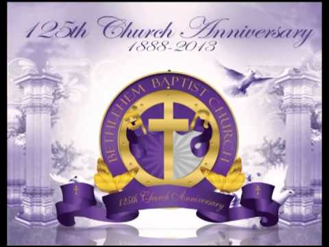 Bethlehem baptist church 125th anniversary banquet invitation youtube bethlehem baptist church 125th anniversary banquet invitation stopboris Images