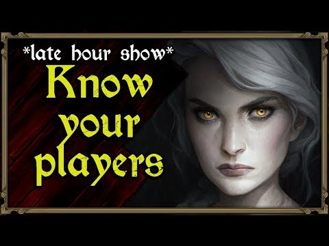 #1 Know Your Players - Dungeon Pub: Late Hour Show