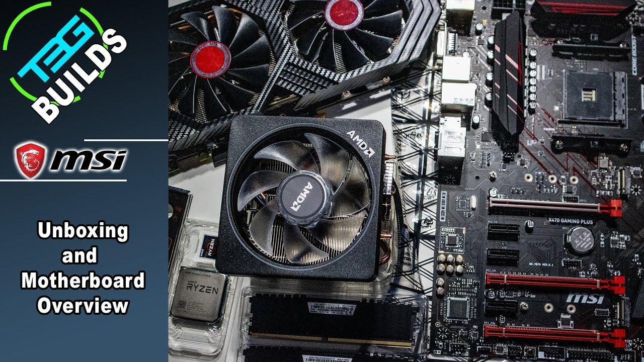 MSI X470 Gaming Plus Overview - Ryzen 2700X Upgrade Episode 01