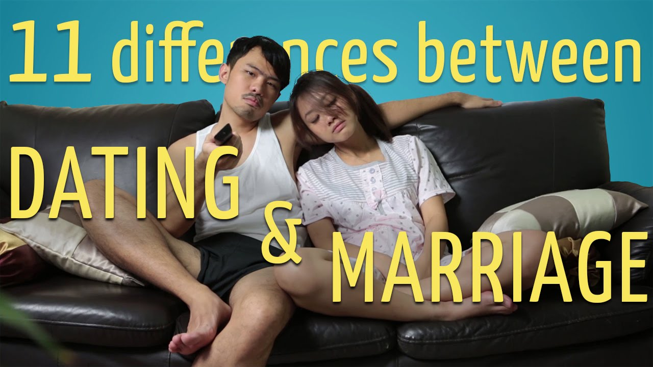 treepotatoes difference between dating and marriage