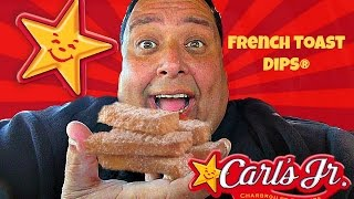 Carl's Jr.® French Toast Dips REVIEW!