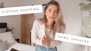 VLOG - Clothes Shopping & Finishing Home Updates | Fashion Influx :)