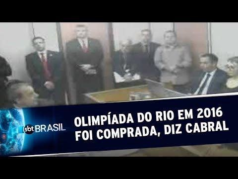 VÍDEO: CABRAL LEVA OURO E O POVO LEVA FERRO NA OLIMPÍADA DO ROUBO