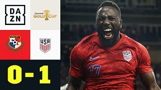 Fallrückzieher! Jozy Altidore netzt akrobatisch: Panama - USA 0:1 | Gold Cup | DAZN Highlights