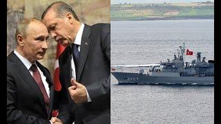 Полчаса назад Анкара взорвала еще один корабль возле Крыма Москву бомбит Эрдоган не остановится