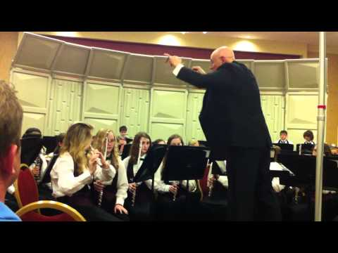 """FORT CLARKE MIDDLE SCHOOL SYMPHONIC BAND performing """"Lords of Greenwich"""""""