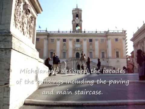 Michelangelou0027s Piazza Del Campidoglio, Rome Italy