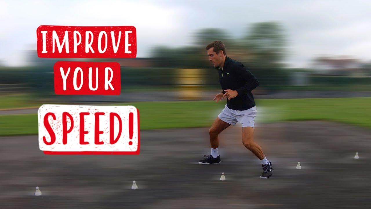 Badminton Speed Training for Faster Footwork