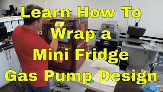 Sun Valley Auto Club Mini Fridge wrap Rm wraps Rm wraps