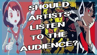 Should Artists Listen to the Audience? Artist Rants