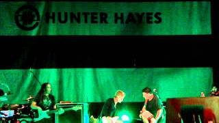 Hunter Hayes and Wayne Toups Performing Some Good Ole Cajun Music- 11-1-11