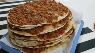 Evde Çıtır TAVA Lahmacunu Tarifi