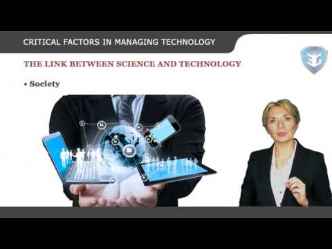 CRITICAL FACTORS IN MANAGING TECHNOLOGY NEW