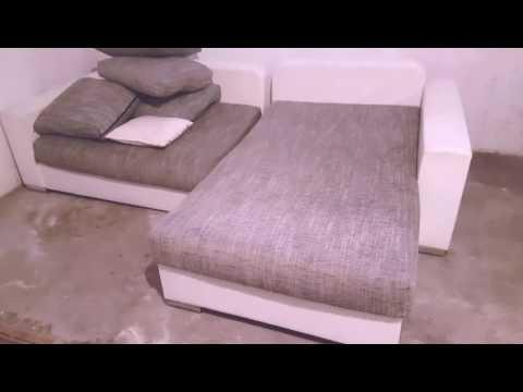 L Couch Neu Bezogen