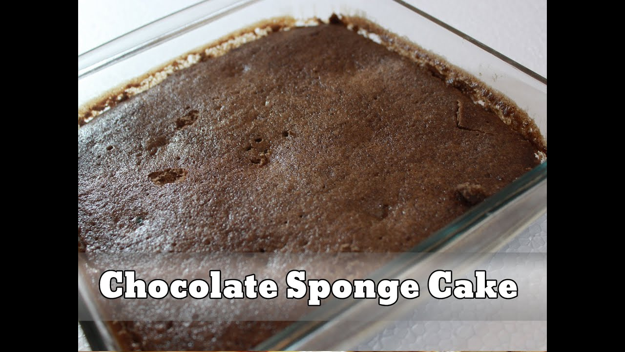 How To Make Simple Sponge Cake In Microwave