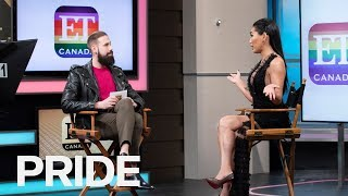 Gia Gunn Talks 'All Stars 4,' Haters And Being A Trans Activist | ET Canada Pride