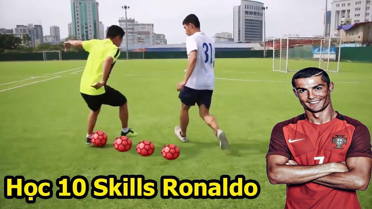 Dạy Bóng Đá : 10 kỹ thuật qua người đỉnh nhất của Ronaldo , Neymar , Messi và các sao U23 Việt Nam