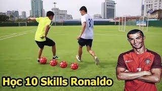 10 kỹ thuật qua người đỉnh nhất của Ronaldo , Neymar , Messi