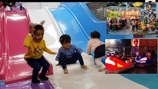 The Best gaming zone skills finder and Indoor amusement Play Ground with maira. Al Hokair Fun Zone