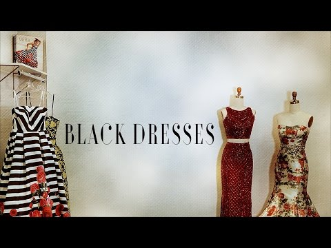 7 Black Dresses to Rock Your Prom Night