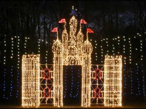 Walkway Of Lights In Marion Indiana