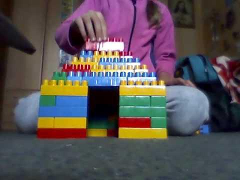 Как построить домик из кубиков прикол