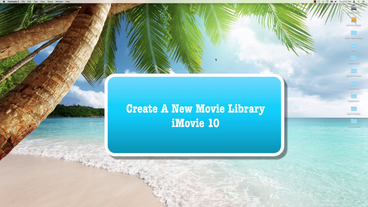 how to move imovie library to external drive 2017
