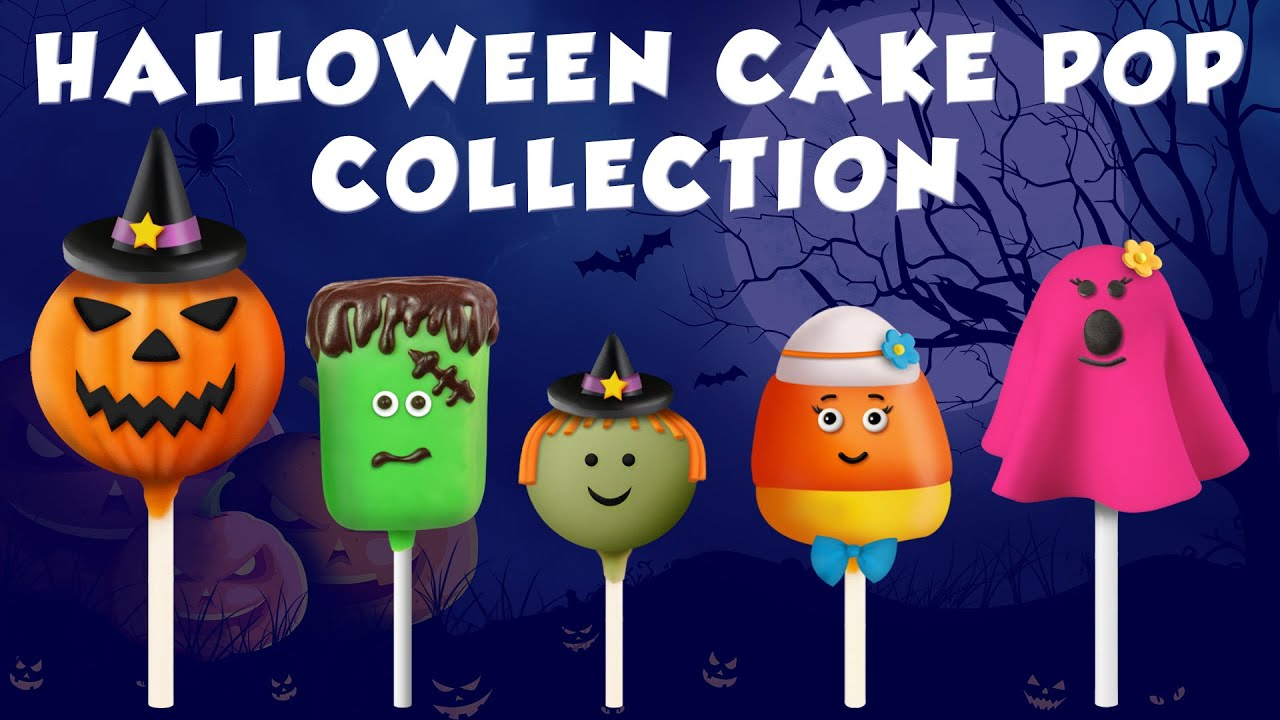 halloween cake pop finger family collection halloween finger family songs youtube - Pop Songs For Halloween
